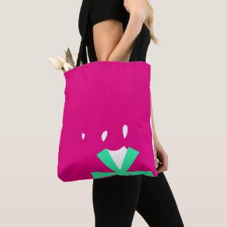 Trendy pink Tote bag