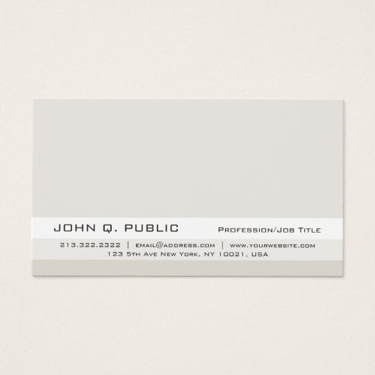 Trendy Professional Sophisticated Vintage Colours Business Card