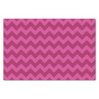 Trendy Purple Chevron Pattern Tissue Paper