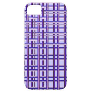 trendy purple patterns iPhone 5 case