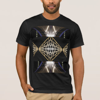 Trendy Robotic Cyborg SciFi Men's Fashion T-Shirt