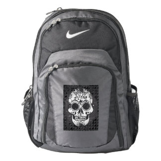 Trendy skull backpack