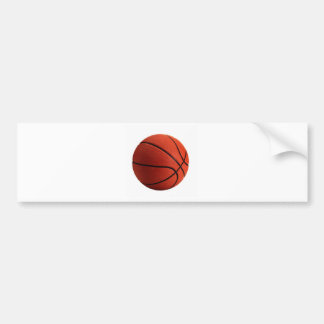 Trendy Style Basketball Bumper Sticker