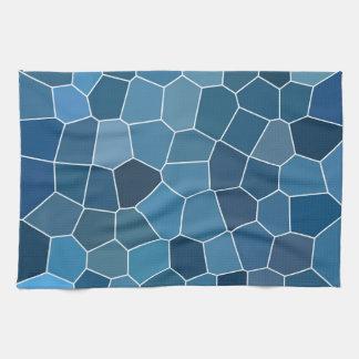 Trendy Stylish Blue Pattern Tea Towel