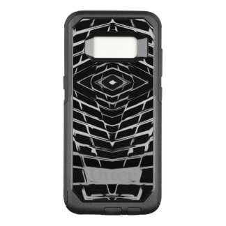 Trendy Stylish Unique Black/White Design OtterBox Commuter Samsung Galaxy S8 Case