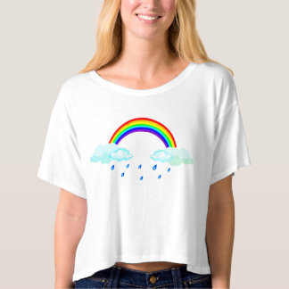 "Trendy T-shirt ""CHEERFULLY TO CLOUDY """