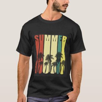 Trendy T-shirt for Men.Summer and Palm.