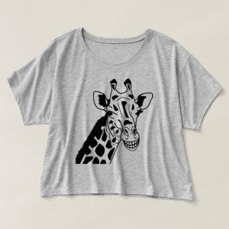 """Trendy T-shirt """"GRINNING GIRAFFE """""""