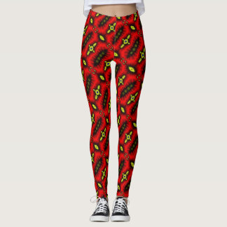 Trendy Techno Death Trap Dance Leggings