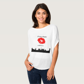 Trendy tee-shirt From Paris with coils T-Shirt