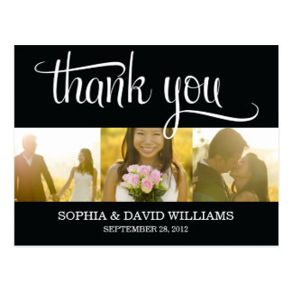 TRENDY THANKS | WEDDING THANK YOU CARD
