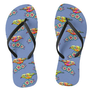 Trendy Three Birds Thongs