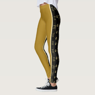 Trendy Tribal Design Leggings
