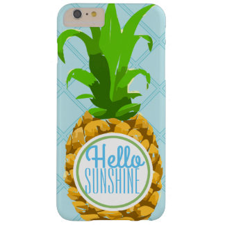 Trendy Tropical Summer Sunshine Pineapple Barely There iPhone 6 Plus Case