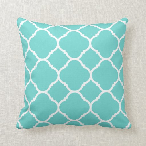 Aqua Cushions, Aqua Throw Cushions