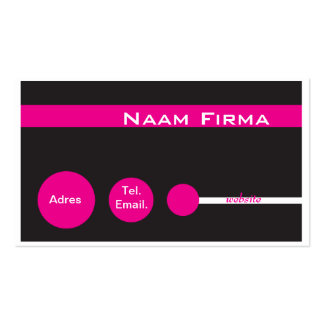 Trendy visiting card business card template