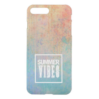 Trendy watercolor and typography iPhone 8 plus/7 plus case