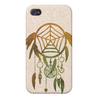 Trendy Watercolor Dream Catcher Covers For iPhone 4