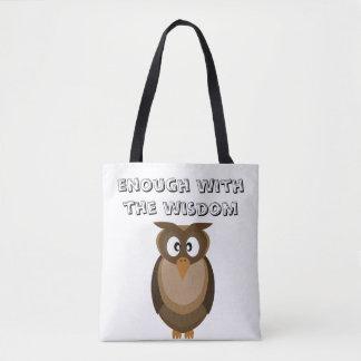 Trendy Wisdom Owl Bag