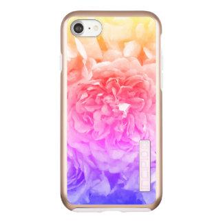 Trendy Yellow, Pink, Purple Rose Incipio DualPro Shine iPhone 8/7 Case