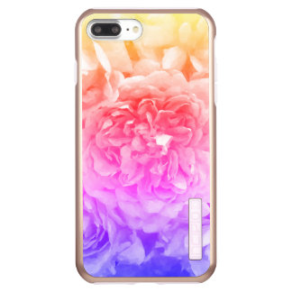 Trendy Yellow, Pink, Purple Rose Incipio DualPro Shine iPhone 8 Plus/7 Plus Case