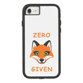 Trendy Zero Fox Given phrase Emoji Cartoon Case-Mate Tough Extreme iPhone 7 Case