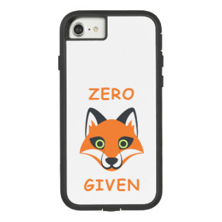 Trendy Zero Fox Given phrase Emoji Cartoon Case-Mate Tough Extreme iPhone 8/7 Case