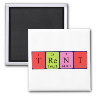 Trent periodic table name magnet