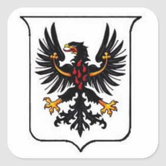 Trento Coat of Arms Square Sticker