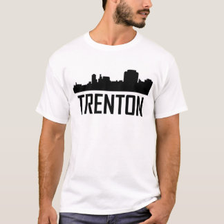 Trenton New Jersey City Skyline T-Shirt