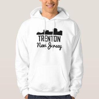Trenton New Jersey Skyline Hoodie
