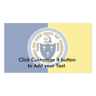 Trenton, New Jersey, United States flag Business Card