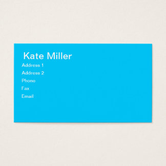 Tres Chic Calling Cards