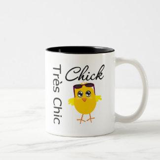 Tres Chic Chick 2 Coffee Mug