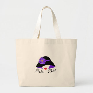 Tres Chic Large Tote Bag