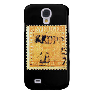 Treskilling Yellow of Sweden Sverige 3 Cent Stamp Samsung Galaxy S4 Cases