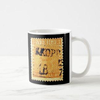Treskilling Yellow of Sweden Sverige 3 Cent Stamp Classic White Coffee Mug