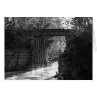 Trestle Bridge Greeting Card