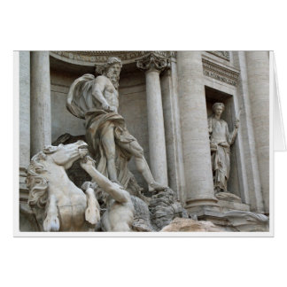 Trevi Fountain Card