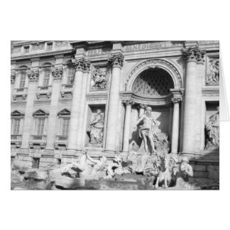 Trevi Fountain in Rome Card