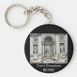 Trevi Fountain in Rome, Italy Key Ring