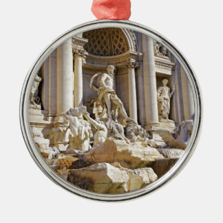 trevi fountain metal ornament