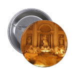 Trevi Fountain Pinback Buttons