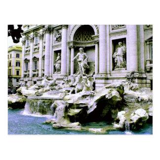 Trevi Fountain Post Card