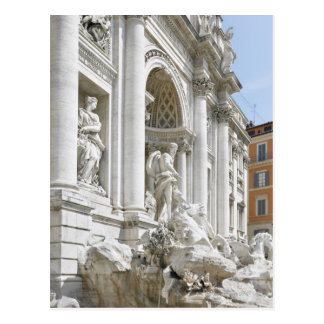 Trevi Fountain Postcard