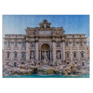 Trevi fountain, Roma, Italy Cutting Board
