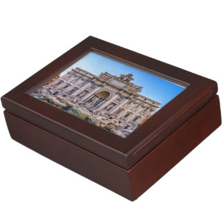 Trevi fountain, Roma, Italy Keepsake Box