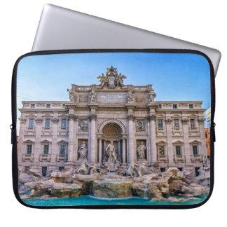 Trevi fountain, Roma, Italy Laptop Sleeve