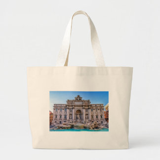 Trevi fountain, Roma, Italy Large Tote Bag