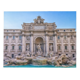 Trevi fountain, Roma, Italy Notepad